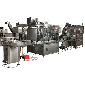 Automatic Peanut Butter Manufacturing and Filling Capping Production Line