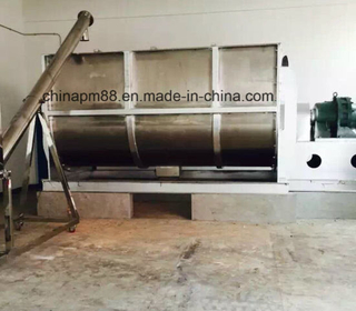 High Efficient Powder & Liquid Blender/ Spiral Double Ribbon Mixer (WLDH model)