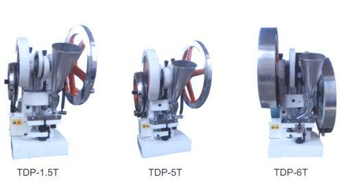 Single Punch Tablet Press Machine (TDP Series)