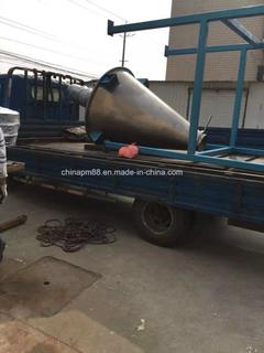 用于粉末、颗粒或液体混合机的双螺杆锥形混合器